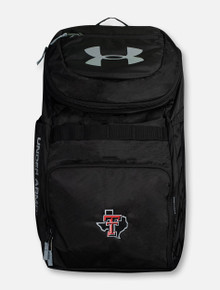 """Under Armour Texas Tech Red Raiders """"Undeniable"""" Black Backpack Pride"""