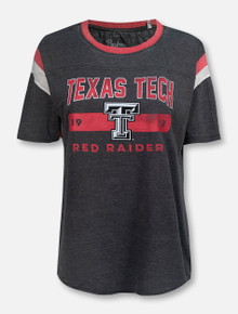 "Pressbox Texas Tech Red Raiders Double T ""Jagger"" T-Shirt"