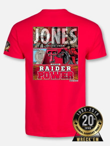 2019 Official Texas Tech Red Raiders Wreck 'Em Tech Game Day Red T-Shirt