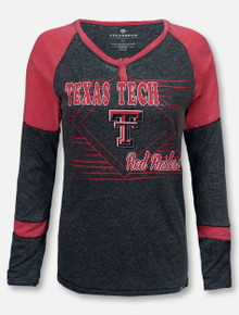 "Arena Texas Tech Red Raiders ""Miranda"" Long Sleeve Henley T-Shirt"