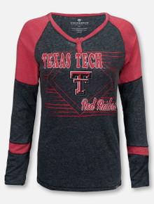 "Arena Texas Tech Red Raiders ""Miranda"" Long Sleeve Henley T-Shirt"