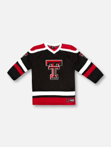 "Arena Texas Tech Red Raiders ""Mr. Plow"" YOUTH Black Hockey Jersey"