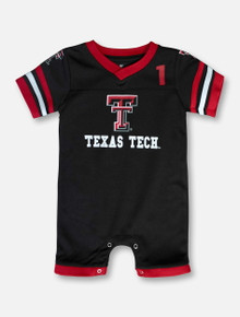 "Arena Texas Tech Red Raiders ""Bumpo"" INFANT Football Onesie"