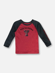 "Arena Texas Tech Red Raiders ""Animanics"" TODDLER Raglan T-Shirt"