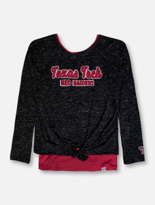 "Arena Texas Tech Red Raiders ""Brain"" Double Layer GIRLS Long Sleeve T-Shirt"