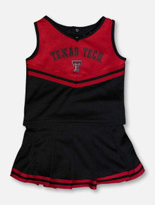 "Arena Texas Tech Red Raiders ""Pinky"" TODDLER Cheer Set"