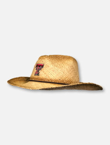 Texas Tech Red Raiders Straw Cowboy Hat