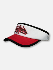 "Top of the World Texas Tech Red Raiders ""Yoyo"" Tri-Color Visor"