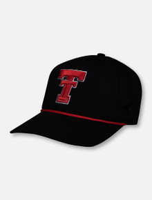 Top of the World Texas Tech Double T Dally 3 Throwback Corded Adjustable Cap