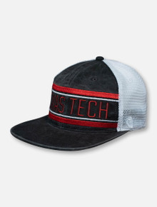 "Top of the World Texas Tech Red Raiders ""Dust"" Vault Logo Flatbill Snapback Cap"