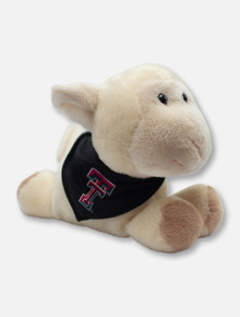 Texas Tech Red Raiders Lamb Plush Toy with Double T Bandana