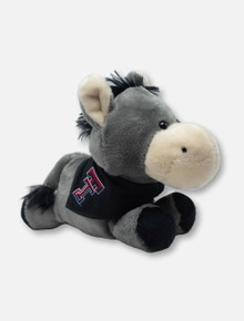 Texas Tech Red Raiders Donkey Plush Toy with Double T Bandana