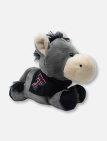 Texas Tech Red Raiders Donkey Plush Toy with Double T Bandana