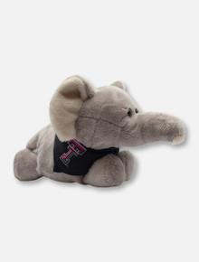 Texas Tech Red Raiders Elephant Plush Toy with Double T Bandana