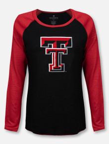 """Arena Texas Texas Tech Red Raiders """"Bitsy"""" Raglan Long Sleeve T-Shirt"""
