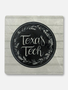 Texas Tech Red Raiders Farmhouse Marble Coaster