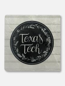Texas Tech Red Raiders Farmhouse Marble Coaster