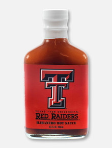 Texas Tech Red Raiders Habanero Hot Sauce Flask