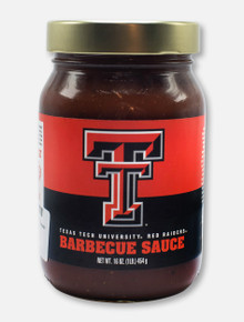 Texas Tech Red Raiders Barbecue Sauce Jar