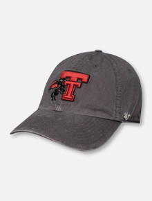 "47 Brand Texas Tech Red Raiders ""Hudson"" Vault Masked Rider Double T Adjustable Cap"