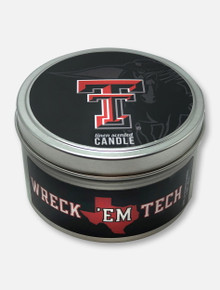 Texas Tech Red Raiders Linen Scented Travel Candle