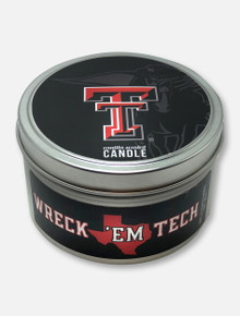 Texas Tech Red Raiders Vanilla Scented Travel Candle