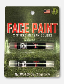 Texas Tech Red Raiders Red and Black Face Paint Sticks