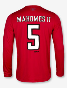 "Under Armour Texas Tech Red Raiders "" Mahomes II Football"" Long Sleeve T-Shirt"
