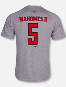 "Under Armour Texas Tech Red Raiders ""Mahomes II Workout Football"" Grey T-Shirt"