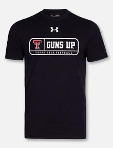 "Under Armour Texas Tech Red Raiders ""Mahomes Guns Up Tag"" Black T-Shirt"