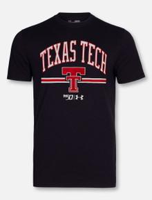 "Under Armour Texas Tech Red Raiders ""Throwback 150"" Black T-Shirt"