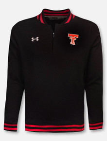 "Under Armour Texas Tech Red Raiders ""Originators"" Throwback Double T Knit 1/4 Zip"