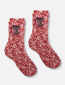 ZooZatz Texas Tech Red Raiders Marbled Socks