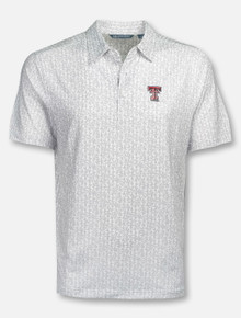 "Cutter & Buck Texas Tech Red Raiders ""Pike"" Polo"
