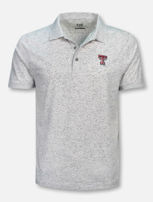 "Cutter & Buck Texas Tech Red Raiders ""Advantage Space Dye"" Polo"