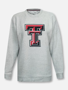 "Pressbox Texas Tech Red Raiders ""Mercy"" Comfy Terry Sweater"