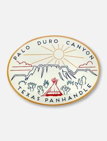 Texas Tech Palo Duro Canyon Texas Panhandle Decal
