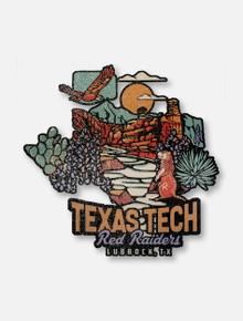 Texas Tech Red Raiders Nature Scene Decal