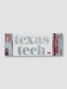 Texas Tech Red Raiders Pristine Window Decal