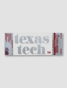 Texas Tech Red Raiders Pristine Window Decal
