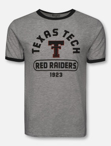 """Champion Texas Tech Red Raiders """"Ring-a-Ding"""" Rochester Short Sleeve Ringer T-Shirt"""