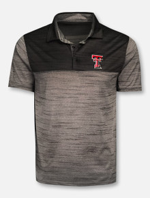 "Levelwear Texas Tech Red Raiders ""Elevate"" Black Polo"