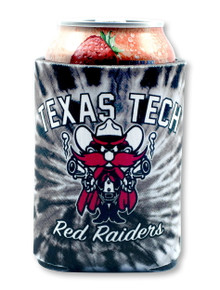 Texas Tech Red Raiders Raider Red Tie Dye Can Cooler