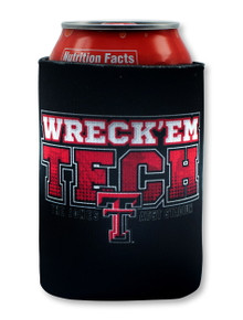 2019 Official Texas Tech Red Raiders Wreck 'Em Tech Can Cooler