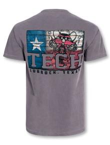"""Texas Tech Red Raiders """"Wood Flag"""" T-Shirt"""