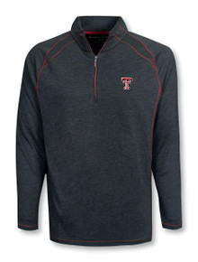 "Tommy Bahama Texas  Tech Red Raiders ""Sport Final Score"" 1/4 Zip Pullover"