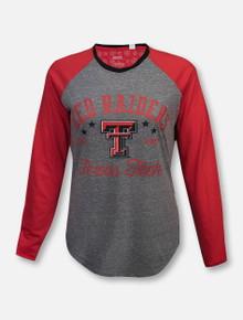 "Pressbox Texas Tech Red Raiders ""Quincy"" Raglan Long Sleeve T-Shirt"