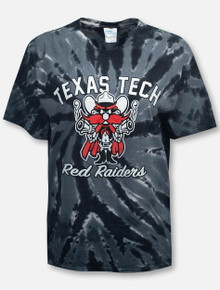 Texas Tech Red Raiders Raider Red Tie Dye T-Shirt