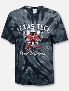 Texas Tech Red Raiders Raider Red Tie Dye T-Shirt