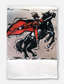 Texas Tech Red Raiders Masked Rider Tea Towel
